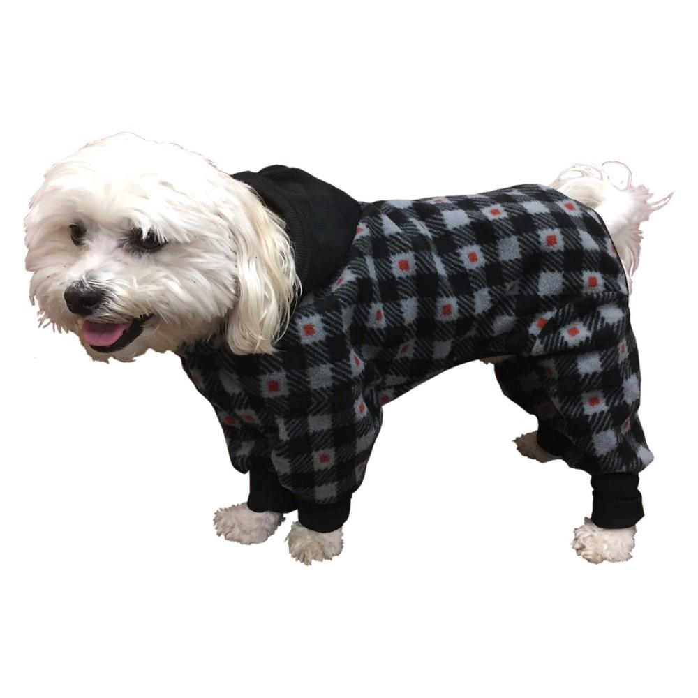 Ultra Paws SnoJame Dog Apparel - Gray - L