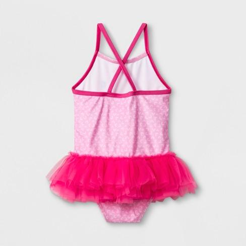 746058568b5aa Toddler Girls' Peppa Pig One Piece Swimsuit - Pink : Target