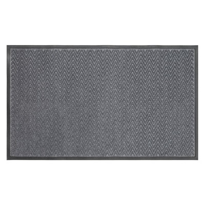 3'X5' Gateway Utility Doormat Charcoal - Mohawk