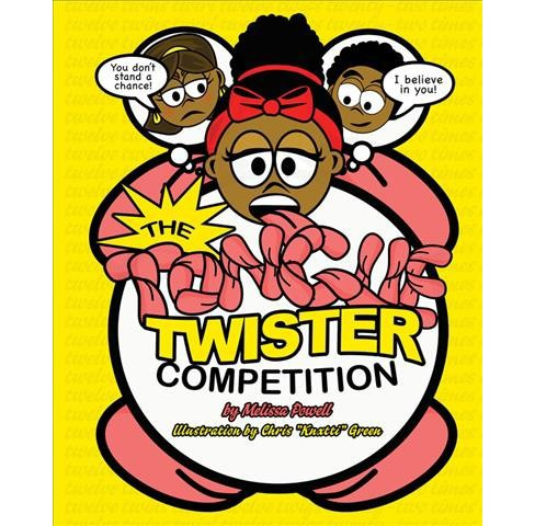 Tongue Twister Competition -  by u00a0melissa Powell (Hardcover) - image 1 of 1