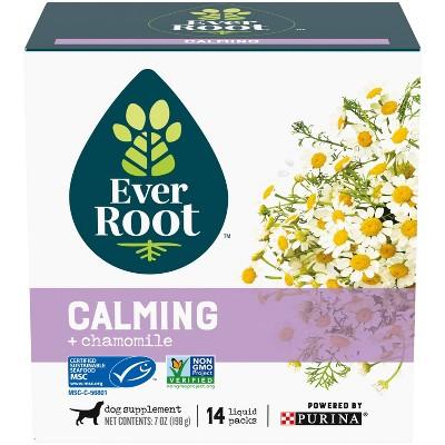 Purina EverRoot Calming Organic Supplement Liquid Packs for Dogs - 14ct