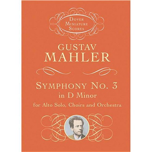 Symphony No. 3 in D Minor for Alto Solo, Choirs and Orchestra - (Dover Miniature Music Scores) - image 1 of 1