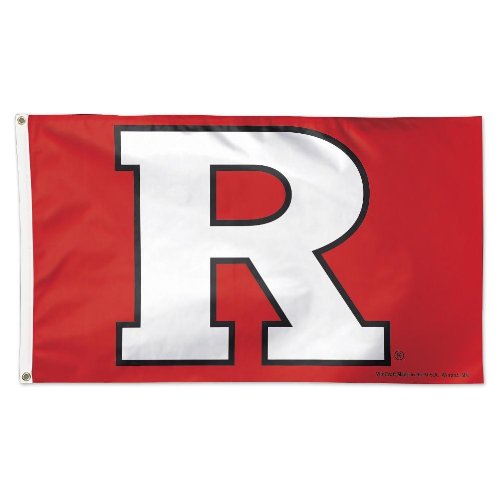 Rutgers Scarlet Knights Wincraft 3x5' Logo Flag