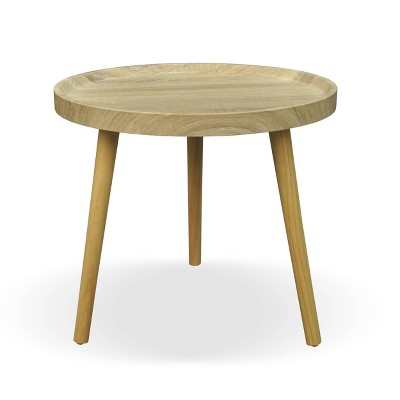Marquette Traditional Wood Side Table Oak - Christopher Knight Home