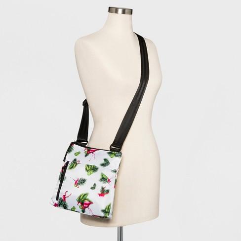 062d8efda4 BORSANI Nylon Crossbody Bag - Pink   Target