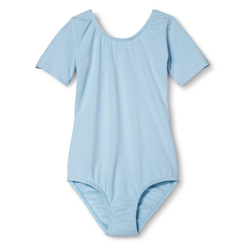 Danz N Motion&#174 by Danshuz&#174 Girls' Leotard -  Lt Blue 12-14 - image 1 of 1