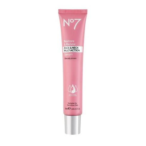 No7 Restore & Renew Face & Neck Multi Action Serum - 1.69oz - image 1 of 4