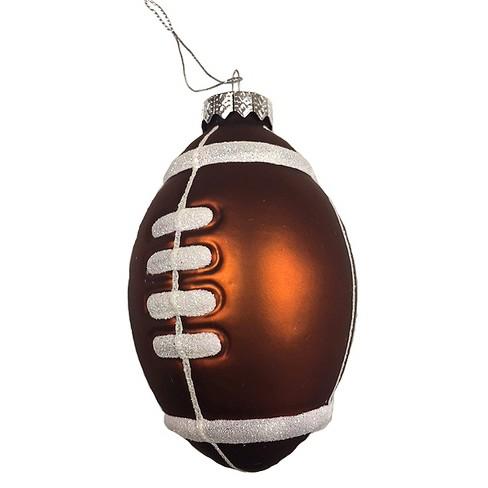 Football Glass Christmas Ornament - Wondershop™ - Football Glass Christmas Ornament - Wondershop&#153 : Target