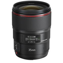 Canon EF 35mm f/1.4L II USM AutoFocus Wide Angle Lens - U.S.A. Warranty