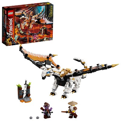 LEGO NINJAGO Wu's Battle Dragon Ninja Battle Set Building Toy 71718