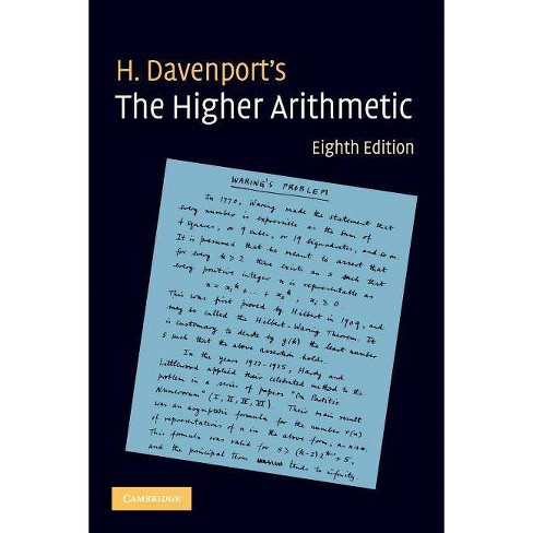 The Higher Arithmetic - 8 Edition by  H Davenport (Paperback) - image 1 of 1