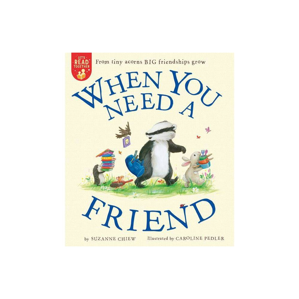 When You Need A Friend Let S Read Together By Suzanne Chiew Paperback