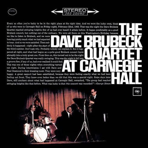 Dave Brubeck - Dave Brubeck Quartet at Carnegie Hall (CD) - image 1 of 1