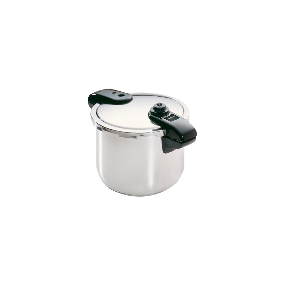 Image of Presto 8qt Polished Stainless Steel Pressure Cooker