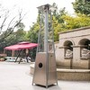 Portable Outdoor Flame Patio Heater Stainless Steel - Legacy Heating - image 2 of 2