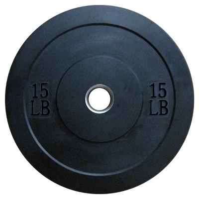 Lifeline Olympic Rubber Bumper Plate 15lbs