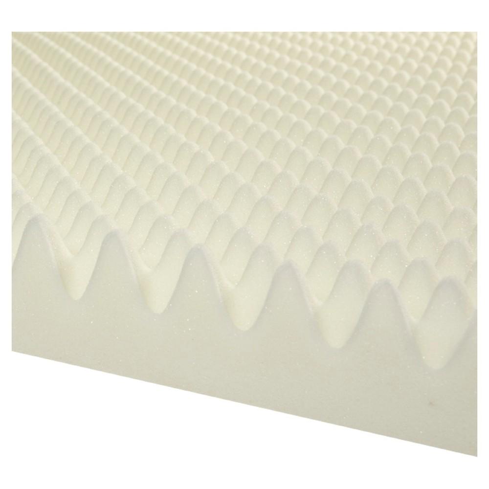 Image of 3 Highloft Memory Foam Topper - White (Cal King)
