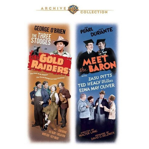 Three Stooges: Meet The Baron / Gold Raiders (DVD) - image 1 of 1