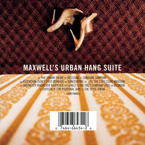 Maxwell - Maxwell's Urban Hang Suite (CD) - image 1 of 1