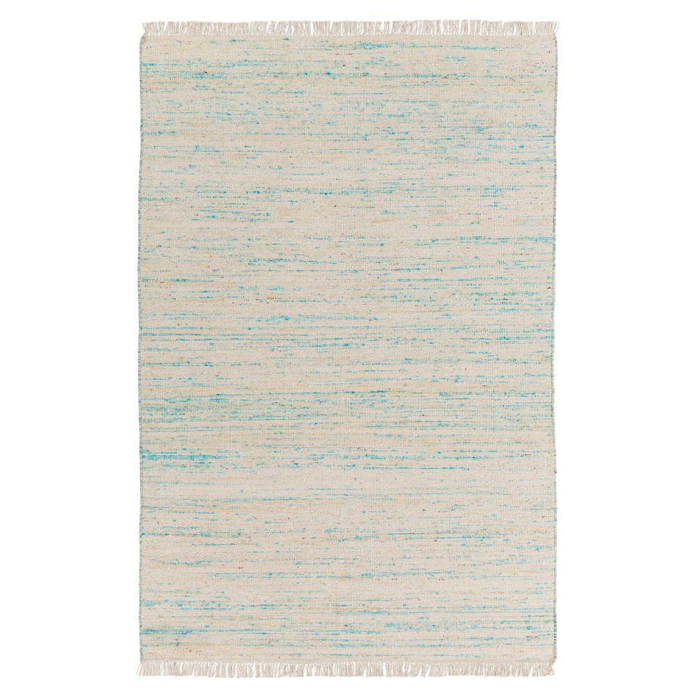 Bright Blue Solid Woven Area Rug - (9'X12') - Surya