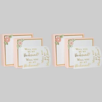 """4ct Gift Box """"Bridesmaid"""" - Bullseye's Playground™"""