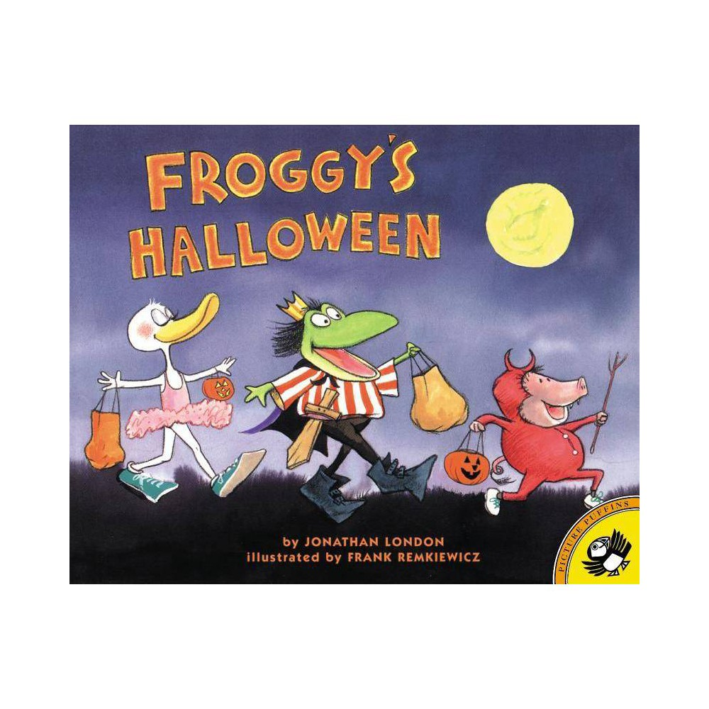 Froggy S Halloween Picture Puffin Books By Jonathan London Paperback