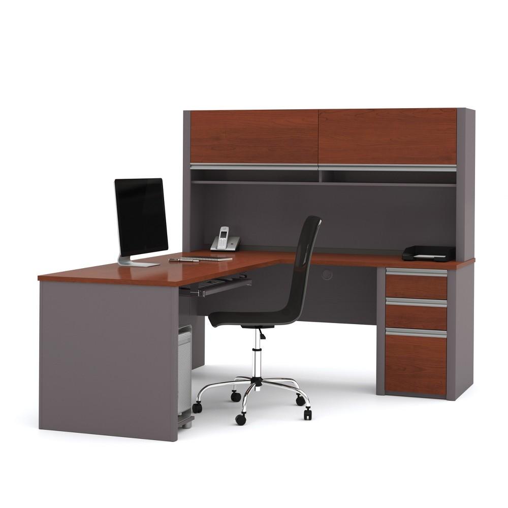 Image of Computer Desk Bestar Gray