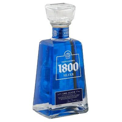 1800® Silver Tequila - 750mL Bottle