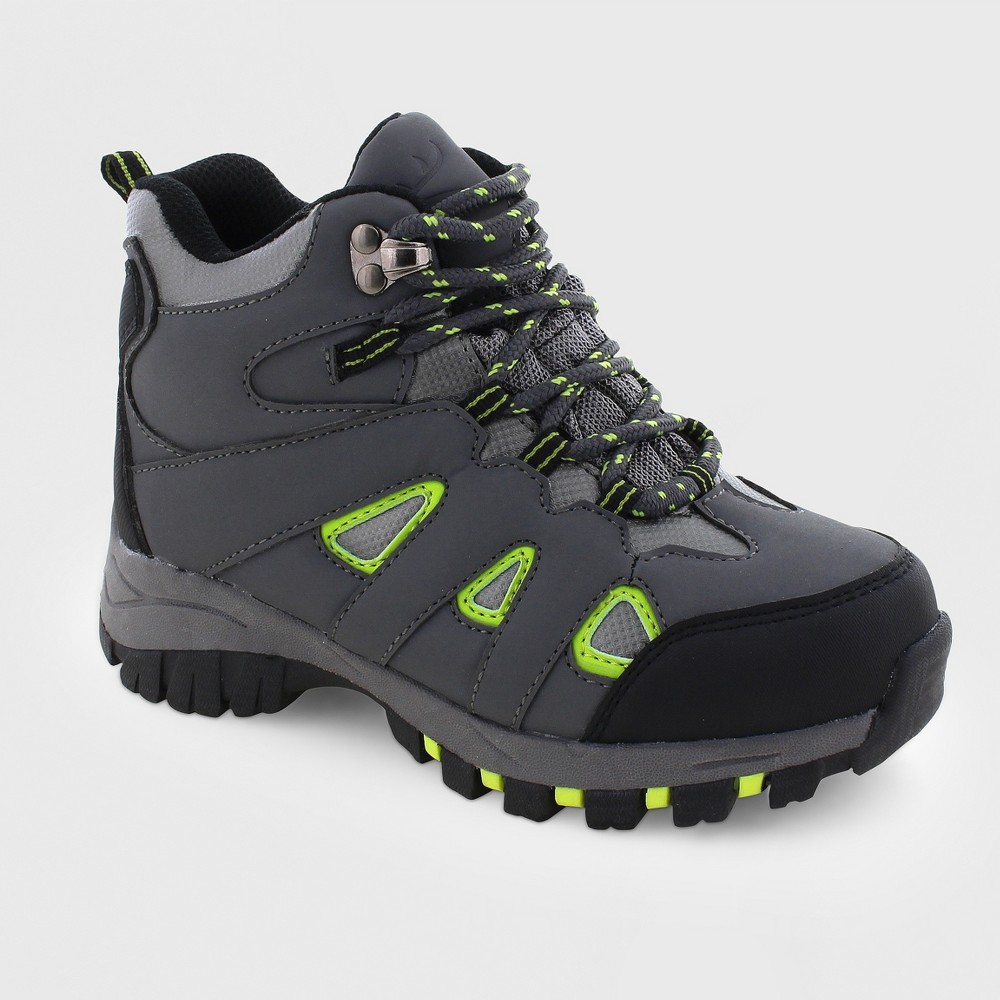 Image of Boys' Deer Stags Drew Water Proof Hiker Boots - Gray 1.5, Boy's