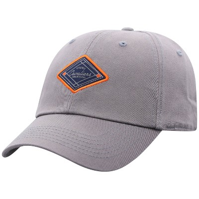 NCAA Virginia Cavaliers Men's Gray Washed Relaxed Fit Hat