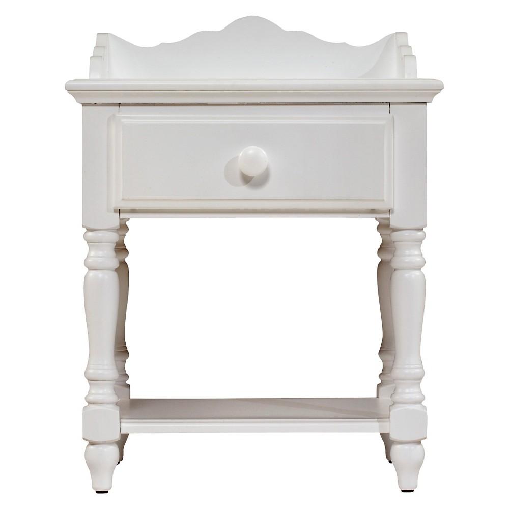 Lauren Nightstand White - Hillsdale Furniture