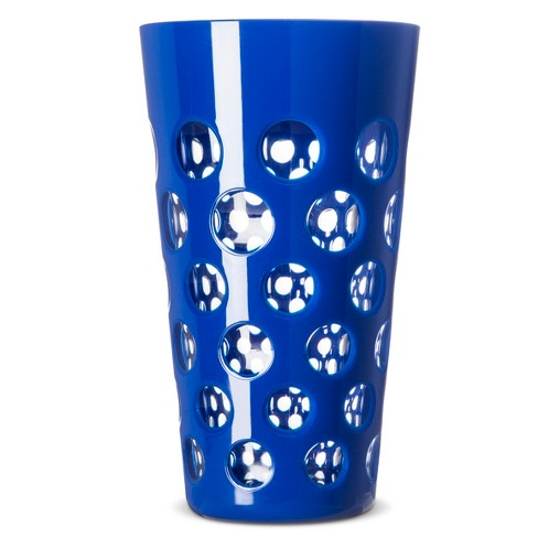 Evergreen Plastic Tall Tumblers 19oz Blue - Set of 4 - image 1 of 1