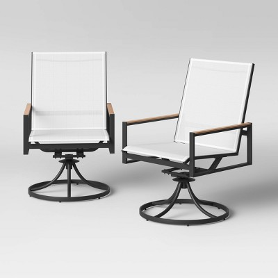 Henning 2pk Swivel Patio Rocking Chairs - Project 62™