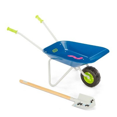 Little Tikes Growing Garden Lightweight & Durable Wheelbarrow & Shovel for Kids'