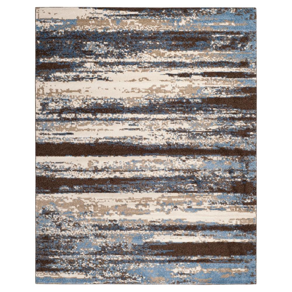 Rolland Area Rug - Cream / Blue (11' X 15' ) - Safavieh, Beige