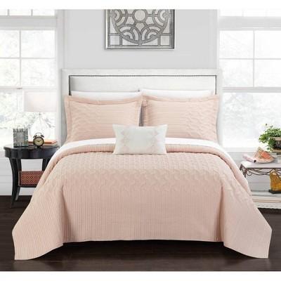 Chic Home Design Shala Quilt & Sham Set