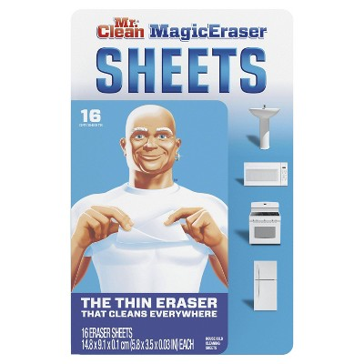 Multi-Surface Cleaner: Mr. Clean Magic Eraser Sheets