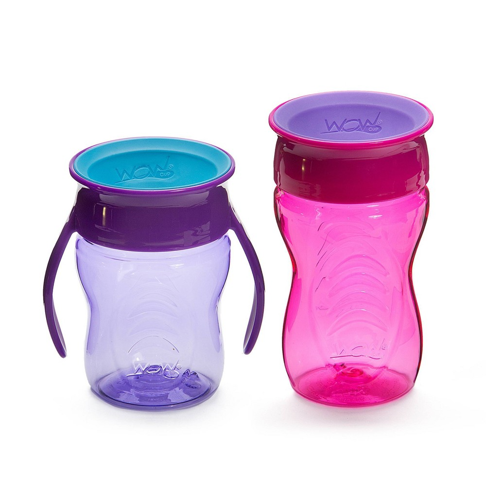 Image of WOW Tritan Cup Stages - Purple/Pink 7&10oz
