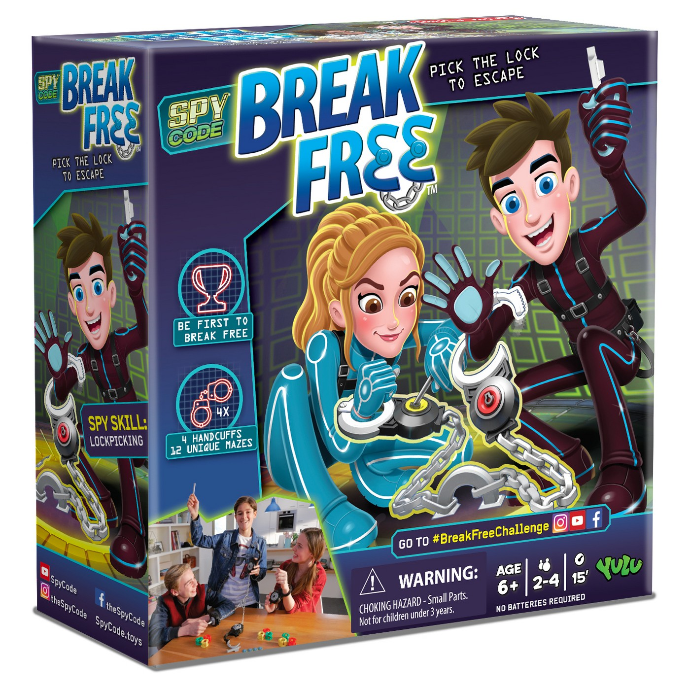 Yulu Break Free Board Game - image 1 of 6
