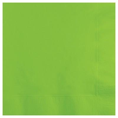 50ct Fresh Lime Green Disposable Napkins