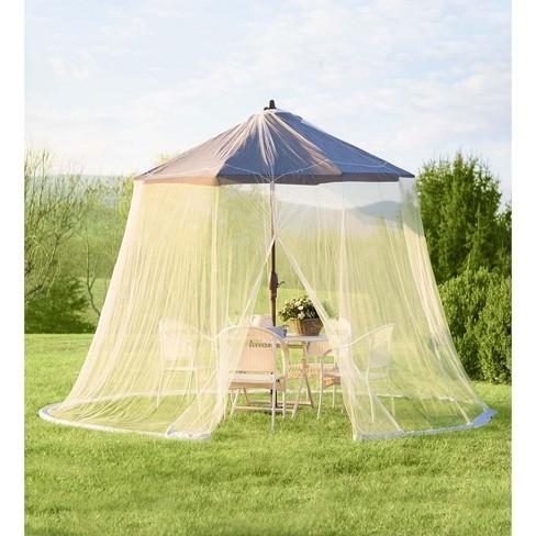 Umbrella Outdoor Mosquito Net White Plow Hearth Target