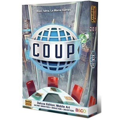 Coup Deluxe Edition - Mobile Art Board Game