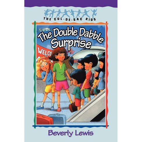 The Double Dabble Surprise - (Cul-de-Sac Kids) by  Beverly Lewis (Paperback) - image 1 of 1