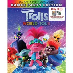 Trolls World Tour (Target Exclusive) (Blu-Ray + DVD + Digital)