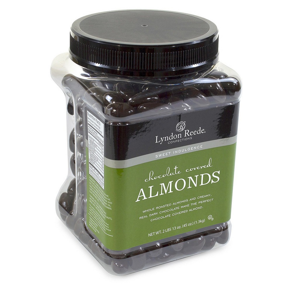 Lyndon Reede Dark Chocolate Covered Almonds - 45oz