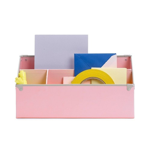 Groovy Design Ideas Frisco Desk Organizer Pink Home Interior And Landscaping Ologienasavecom