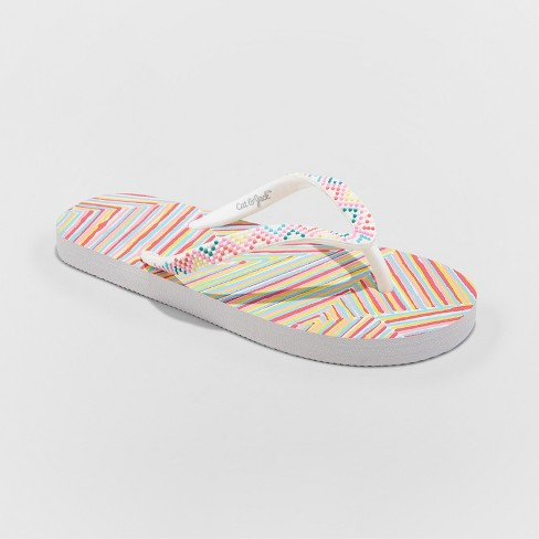 Girls' Haley Flip Flop Sandals - Cat & Jack™ - image 1 of 3
