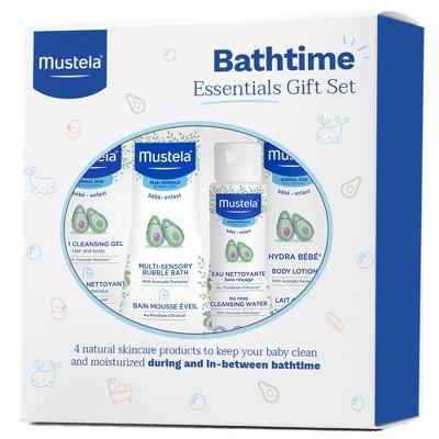 Mustela Baby Bathtime Bath and Body Essentials Gift Set