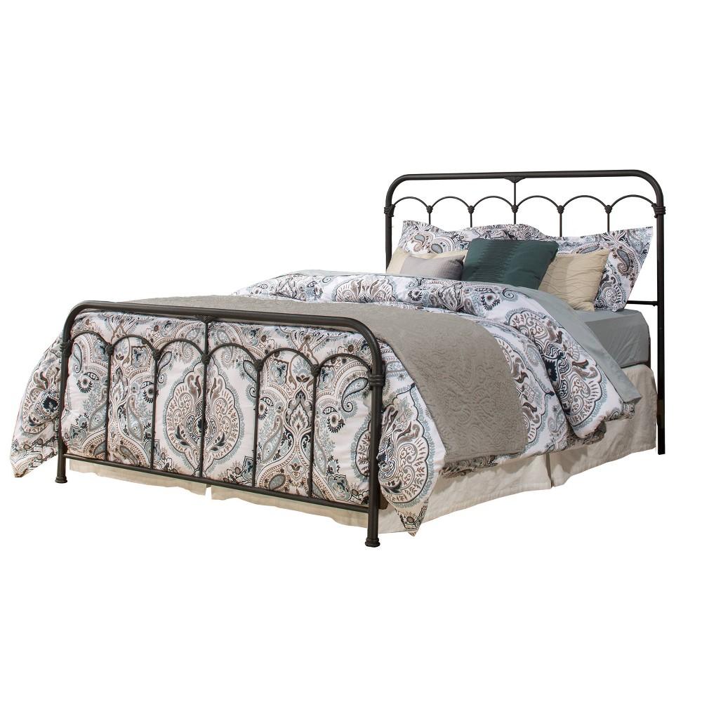 King Jocelyn Bed Black - Hillsdale Furniture