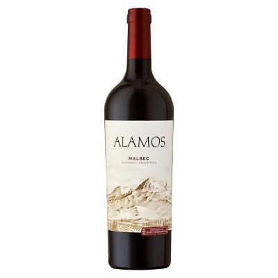 Alamos Malbec Red Wine - 750ml Bottle